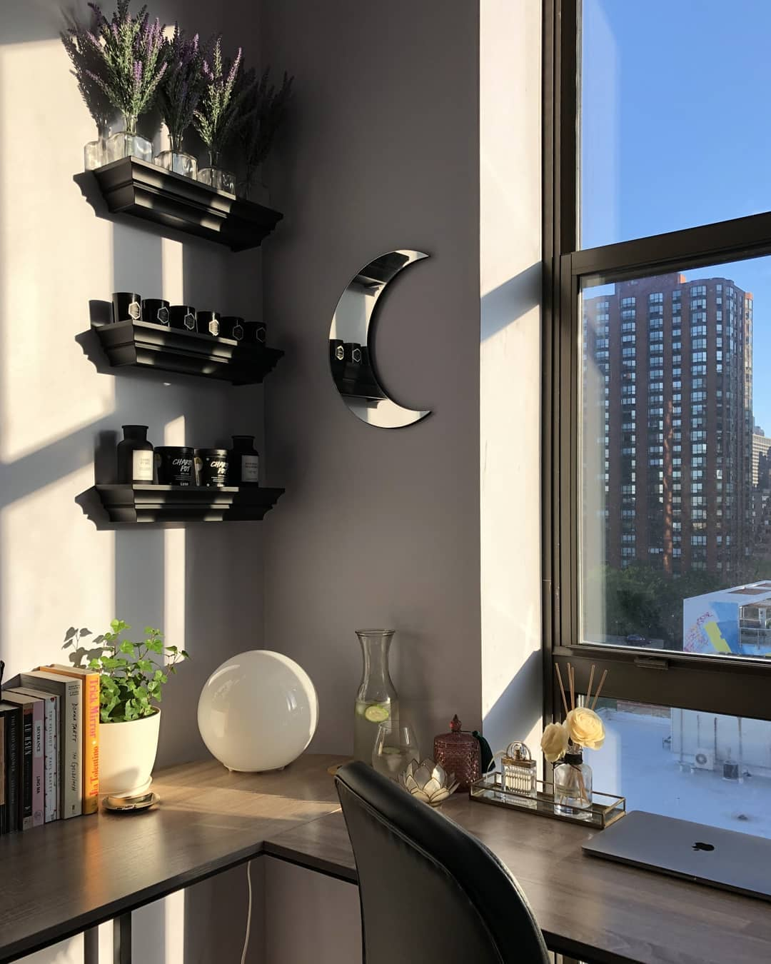 interior design tips - window letting natural light in room