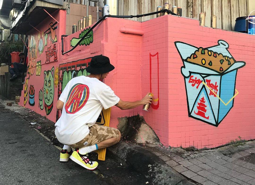 cloakwork street artist