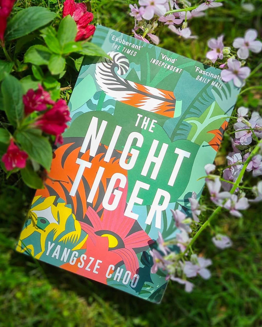 New Malaysian novels - The Night Tiger