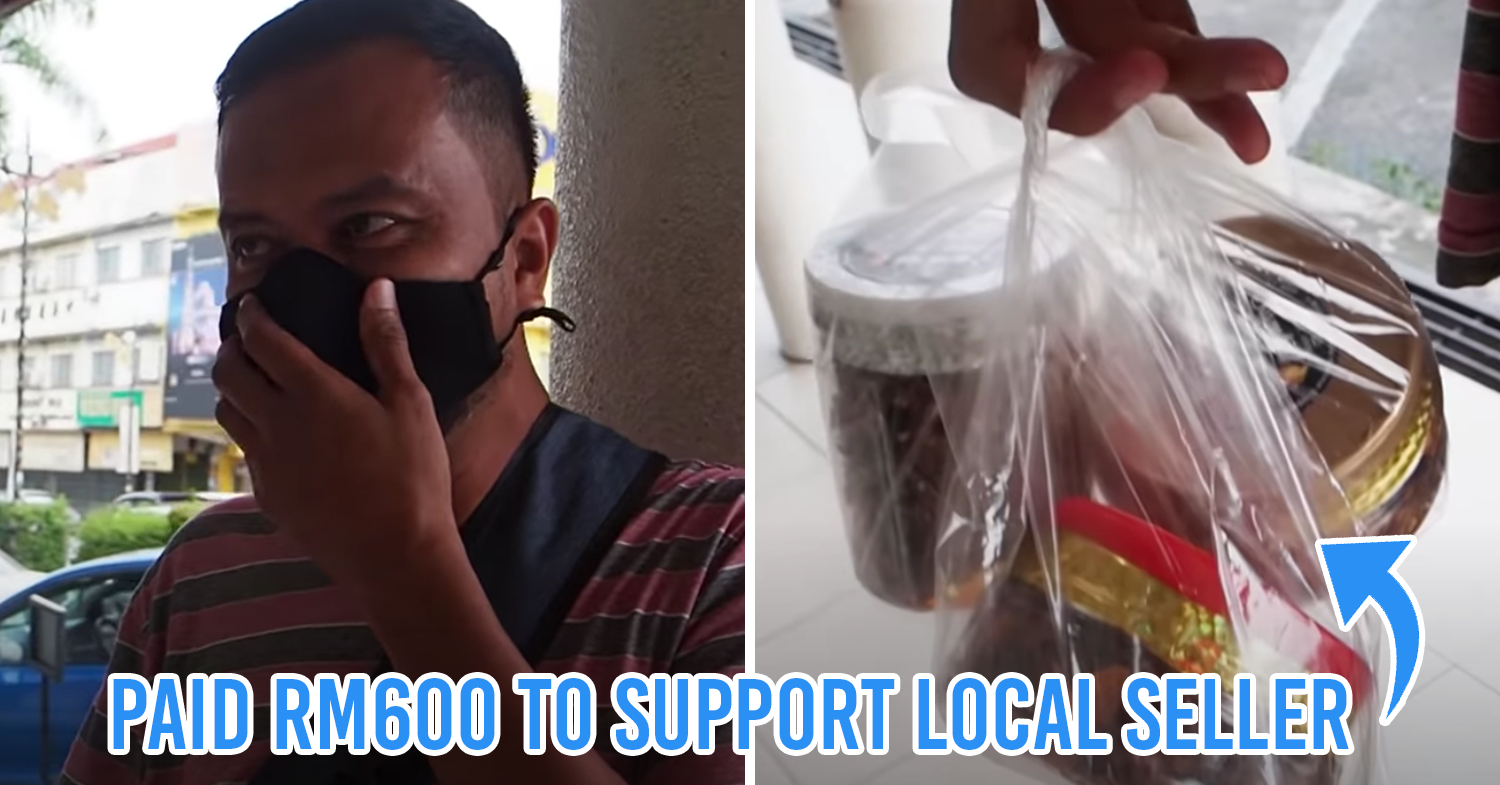 M'sian YouTuber helps out local sambal seller