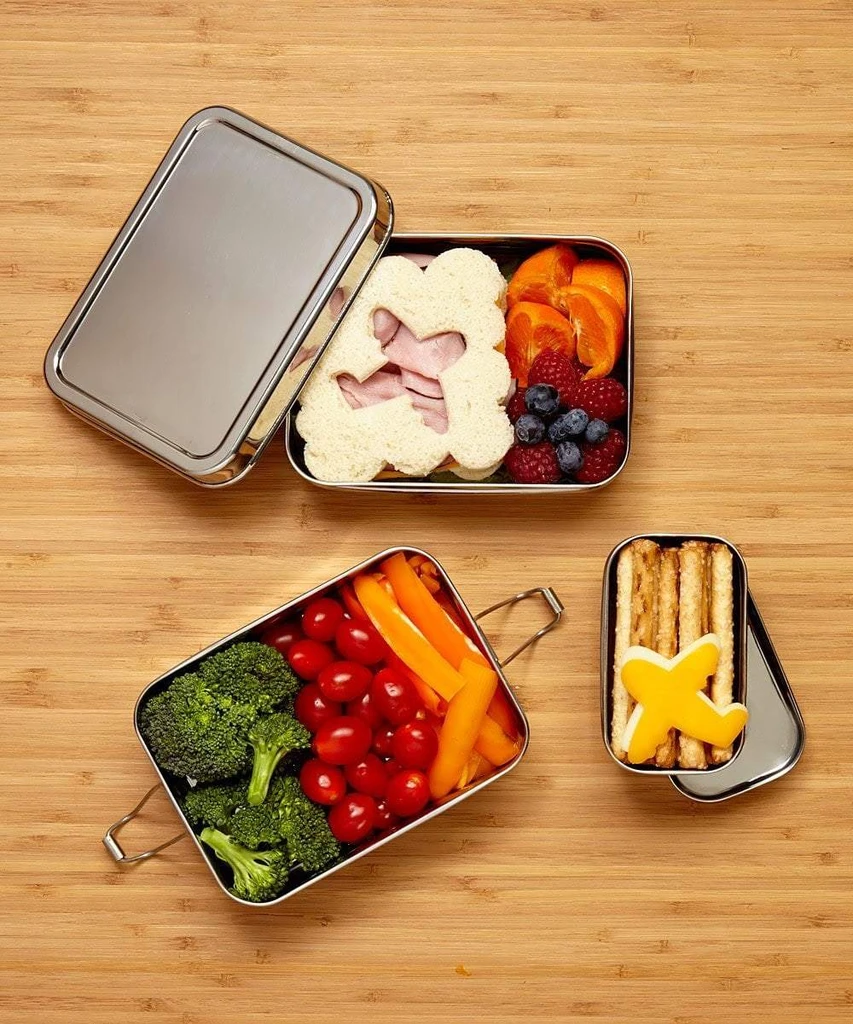 eco friendly food packaging stainless steel lunchbox