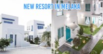This Melaka Holiday Resort Looks So Much Like Santorini, It's Fully Booked Out For The Next 2 Weekends