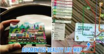 M'sian Techie Creates AR Rapid KL LRT Map On Touch 'N Go Card So He'll Never Get Lost Again
