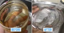 M'sian TikToker Shares Cleaning Hack For Oily Sambal Containers, Netizens Impressed At How Fast It Works