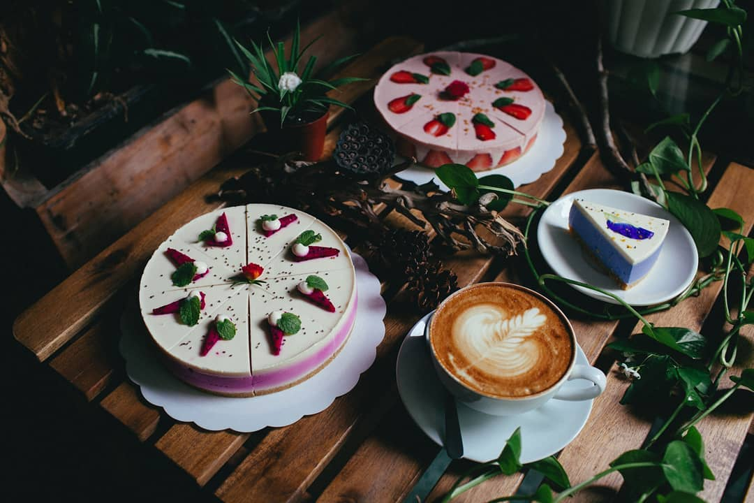 Penang Cafes - Joie's Sourdough and Cafe cakes