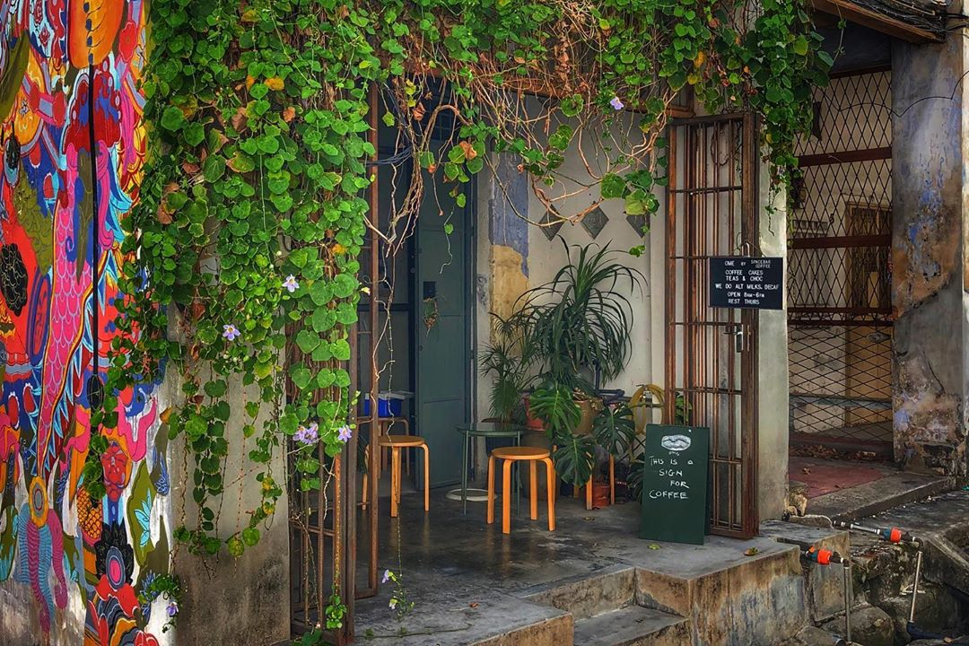 Penang Cafes - Ome by Spacebar Coffee