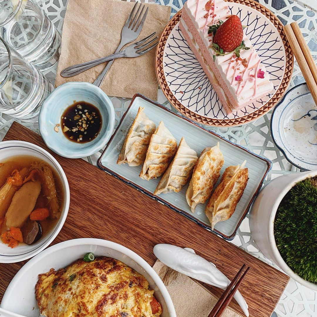 Penang cafes - Forest Canteen food