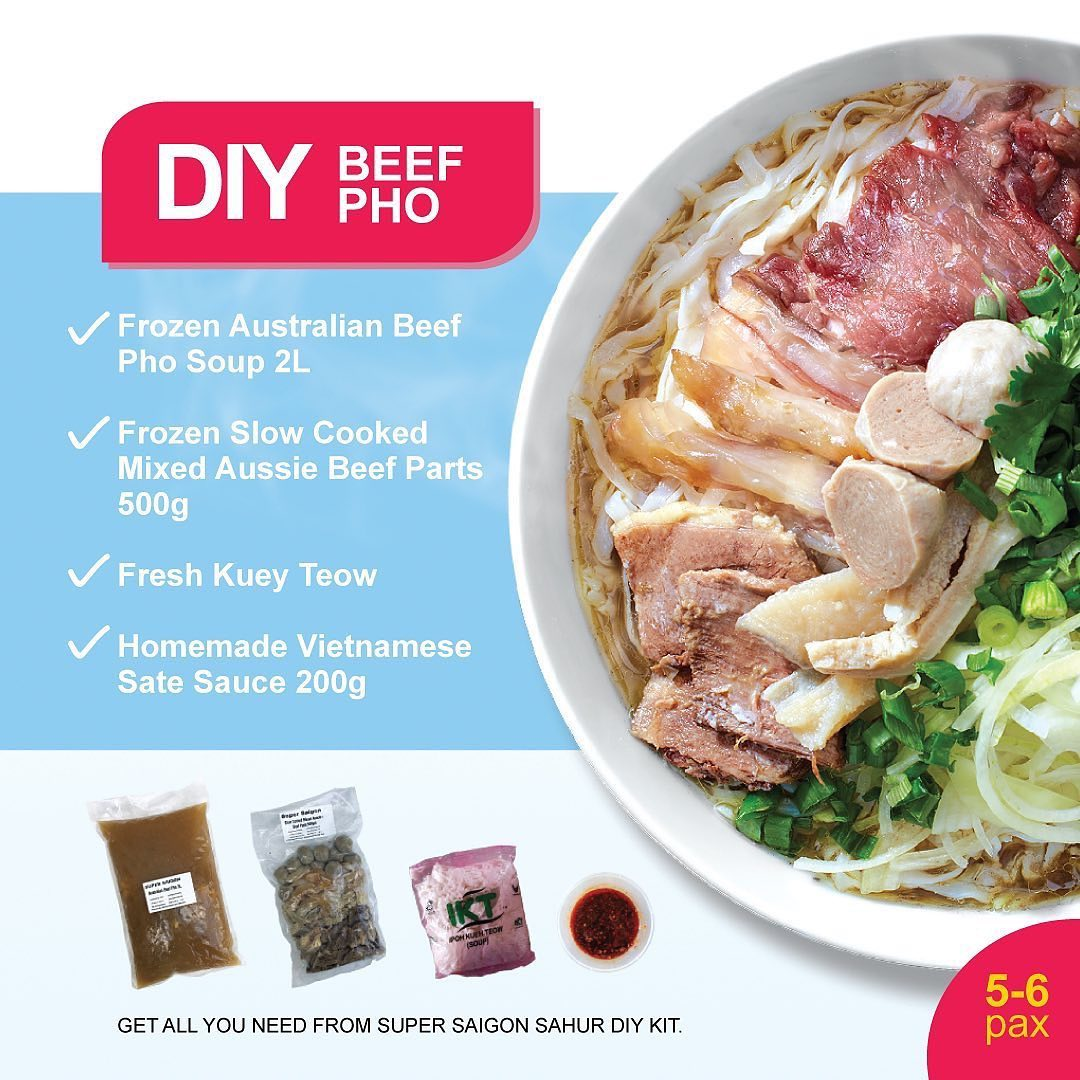 Home Cooking Kits - Super Saigon DIY Beef Pho