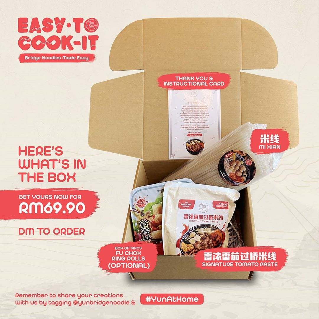 Home cooking kits - Easy To Cook It Kit from Yun Bridge Noodle