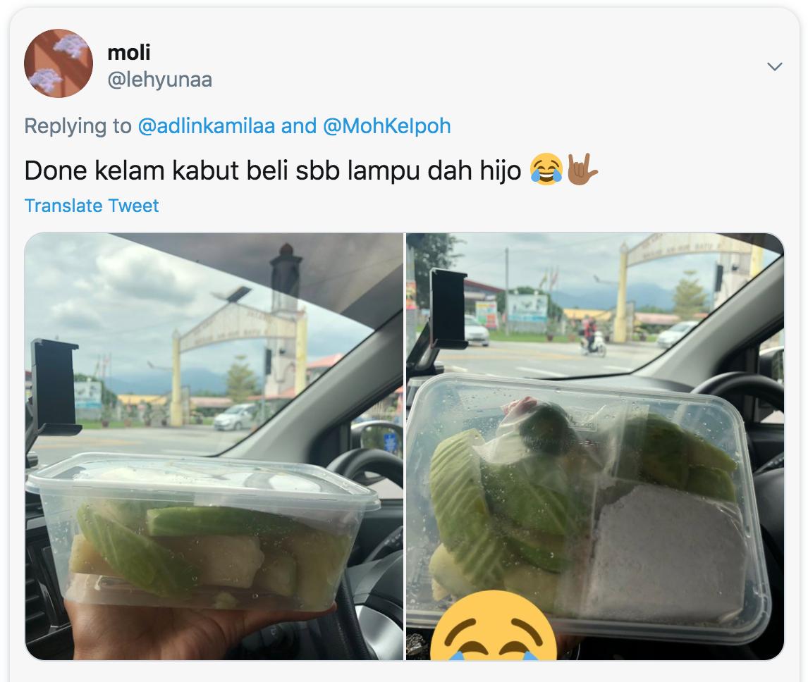 Pelam Asam Boi seller - Tweet 3