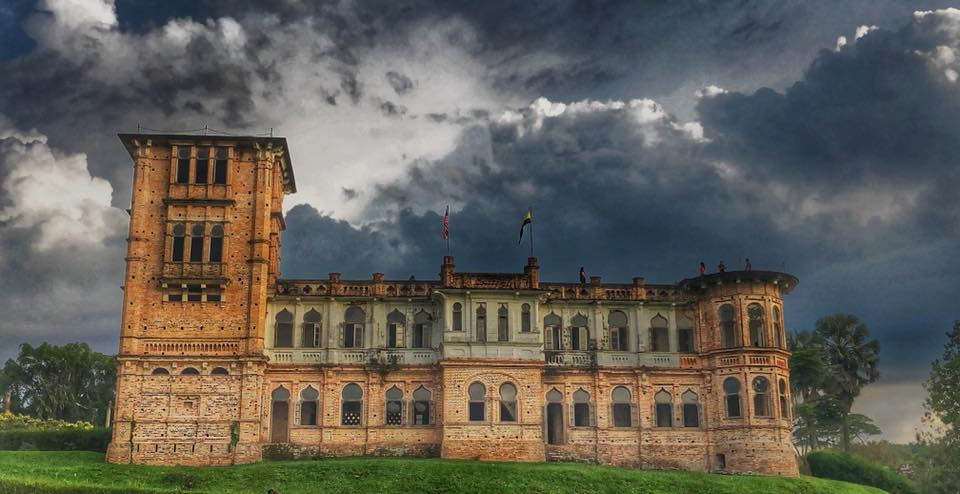 haunted places malaysia - kellie's castle