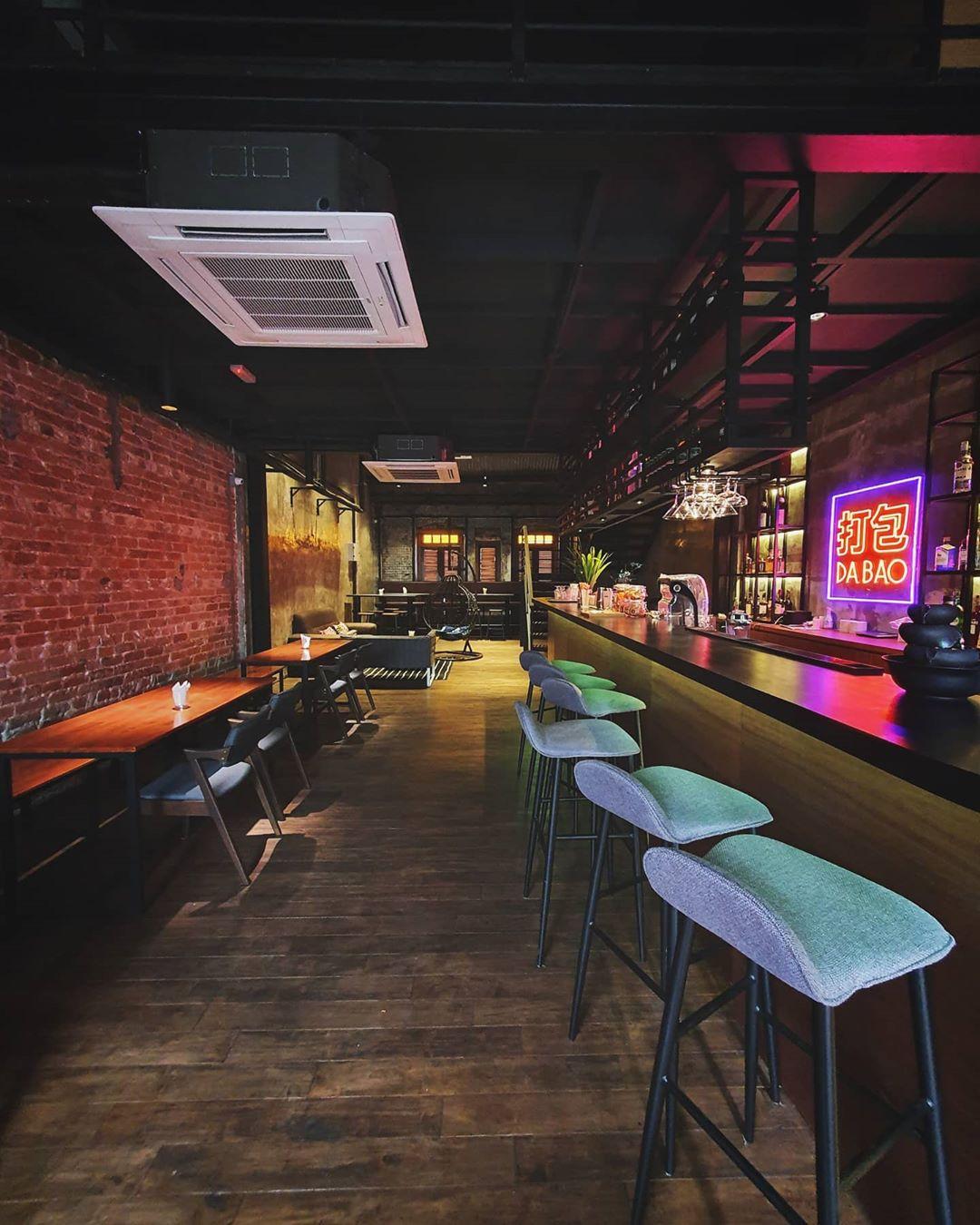 petaling street cafes - da bao restobar