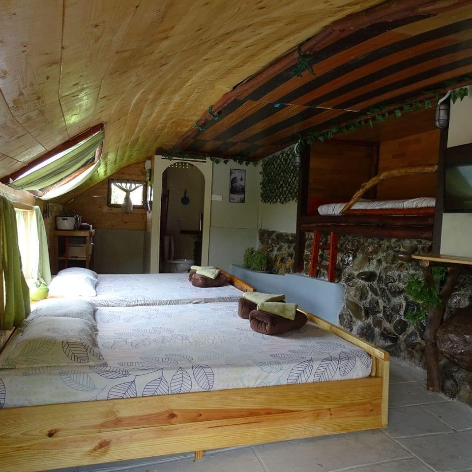 inside of humble hobbit home