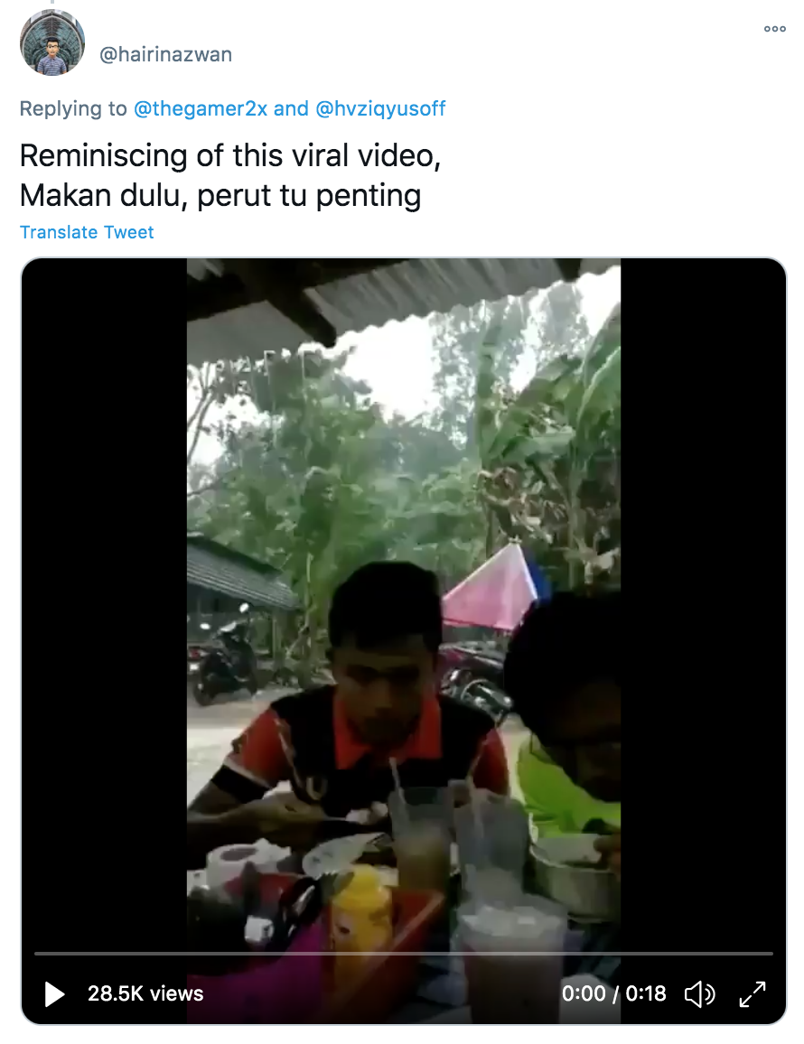 TikToker cooks Maggi mee in his lorry during flood