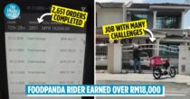 FoodPanda Rider Earns RM18K In 2 Months, Netizens Point Out Why It's Not Easy Money