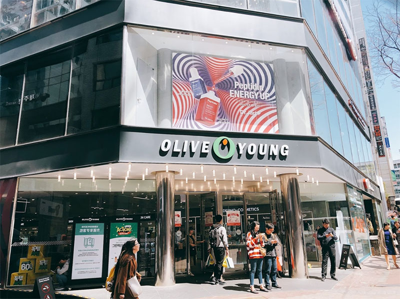 olive young south korea