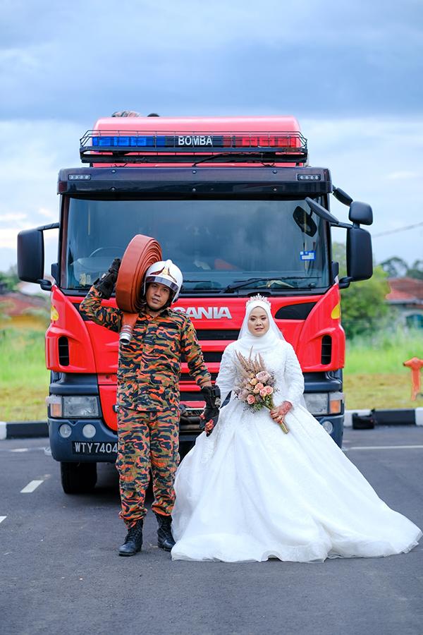 Bomba themed wedding photoshoot - photoshoot