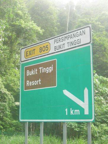 Everyday Mysteries Malaysia - roadsigns