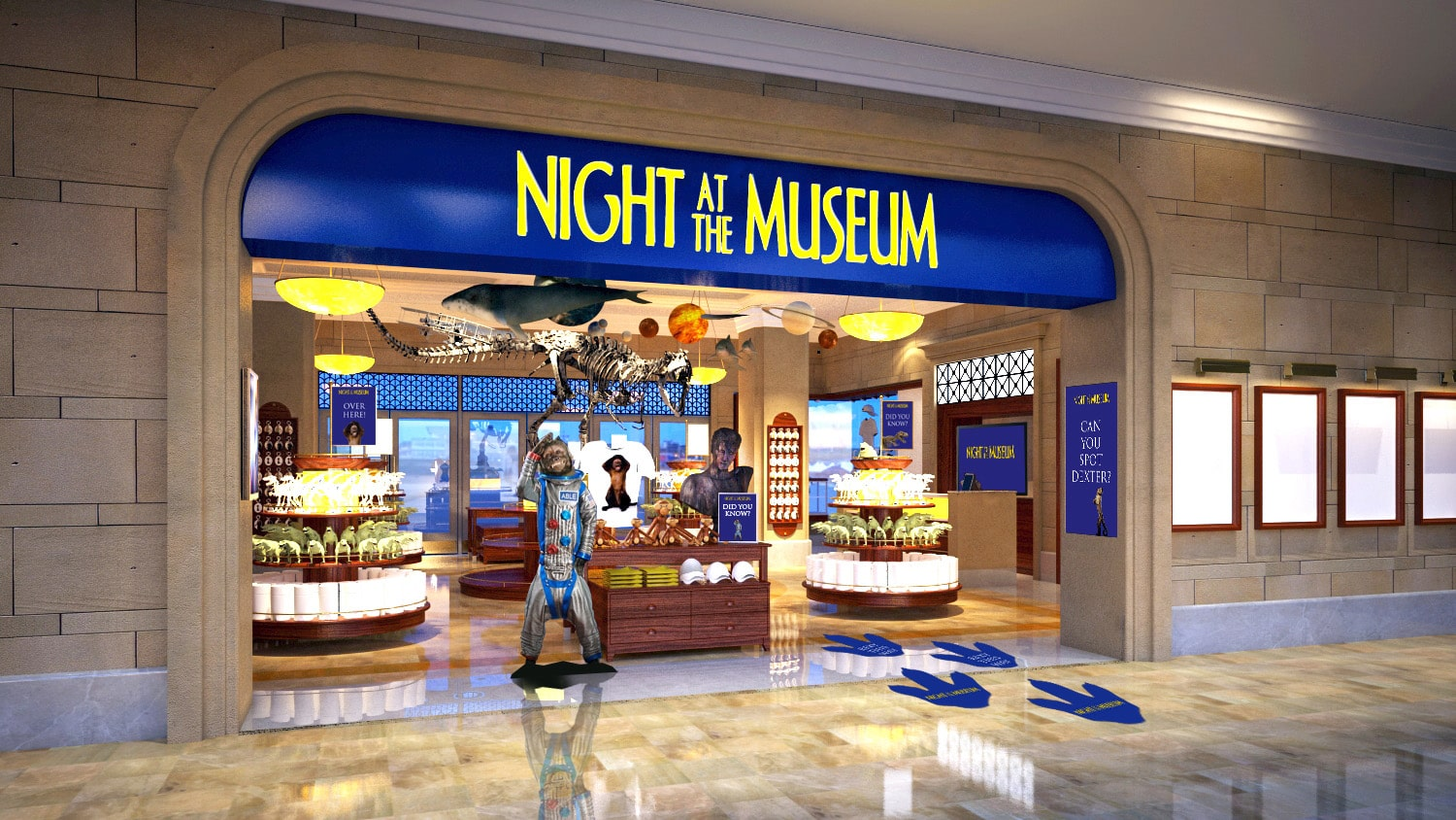 Genting Skyworlds - movie-themed retail space