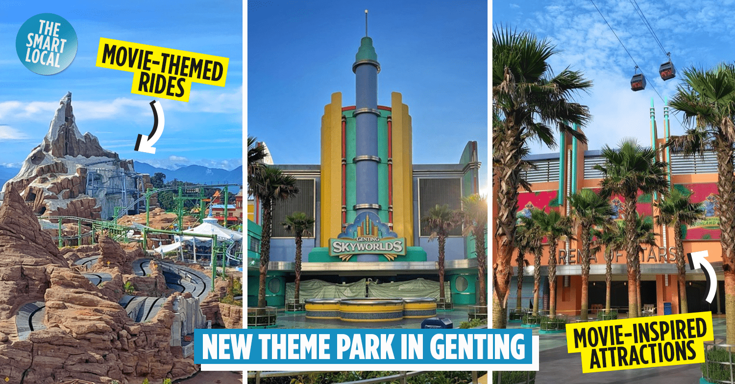 Genting Skyworlds Is A New Movie-Inspired Theme Park ...