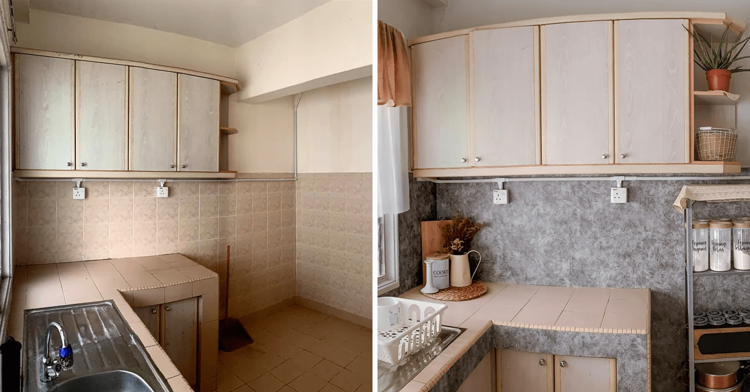 Malaysian's budget home makeover - kitchen