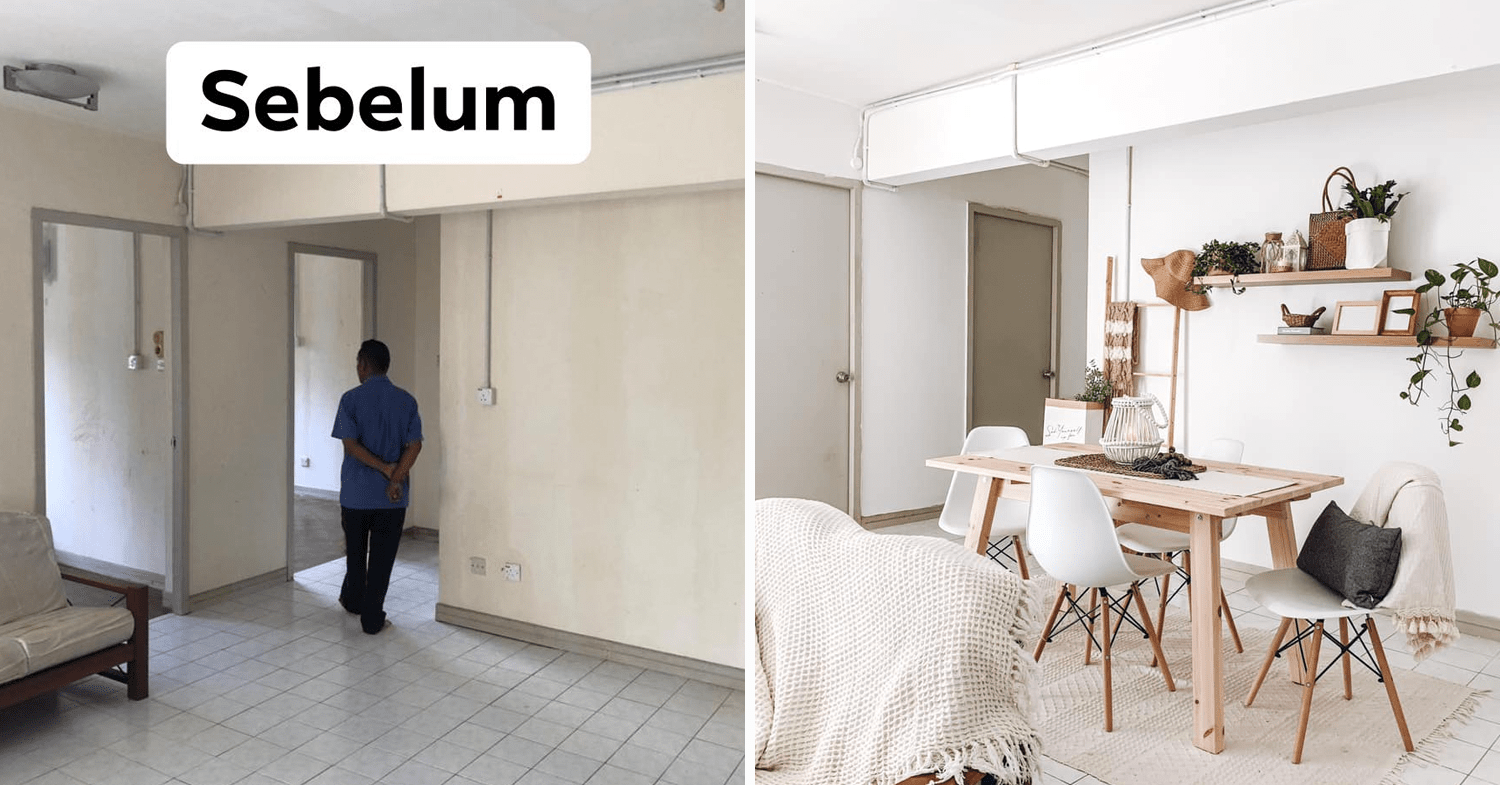 Malaysian's budget home makeover - dining area