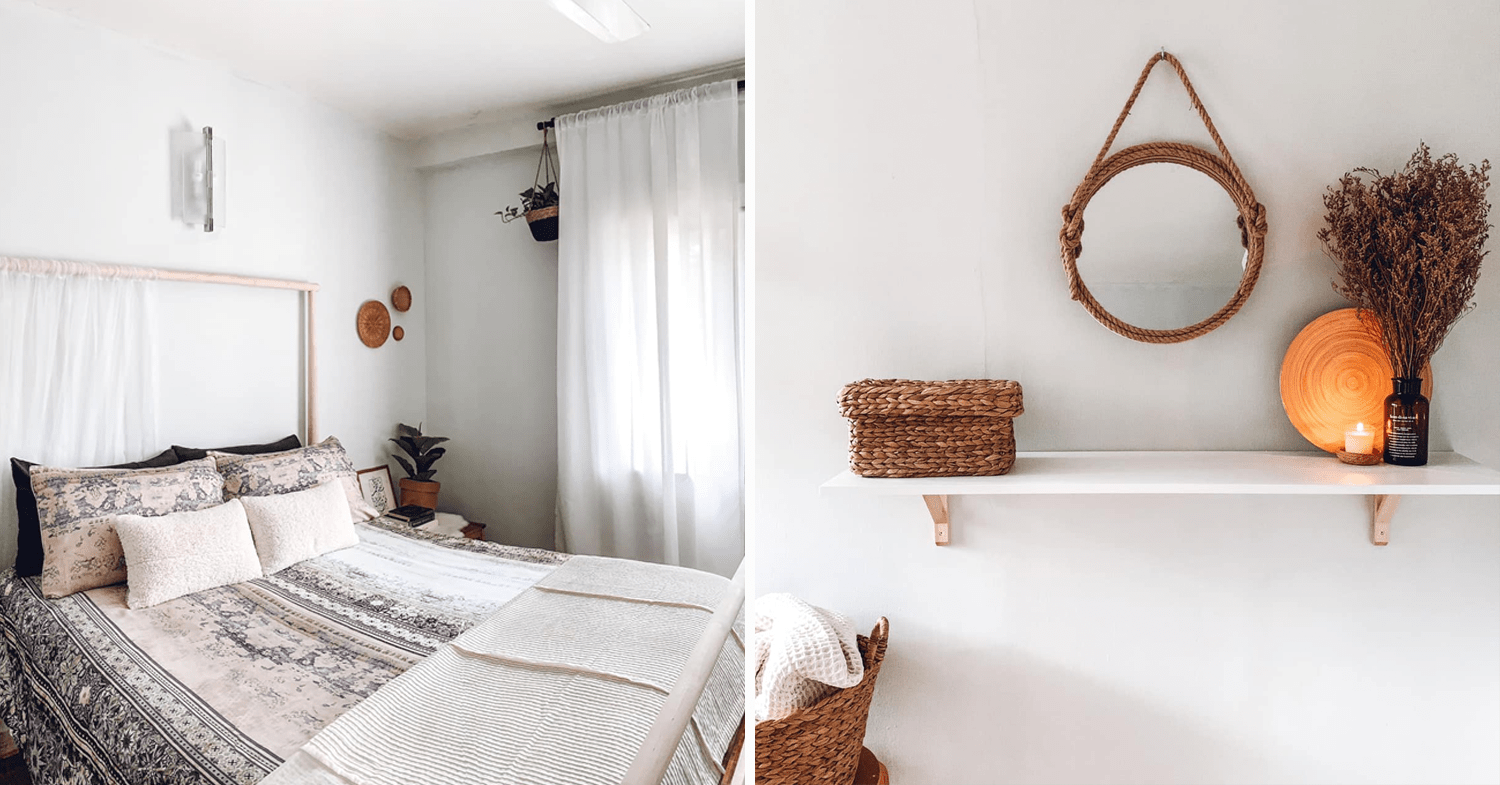 Malaysian's budget home makeover - bedroom