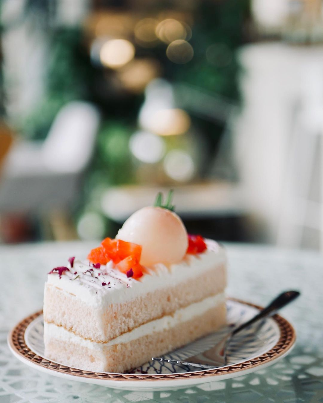 Forest Canteen - lychee rose cake