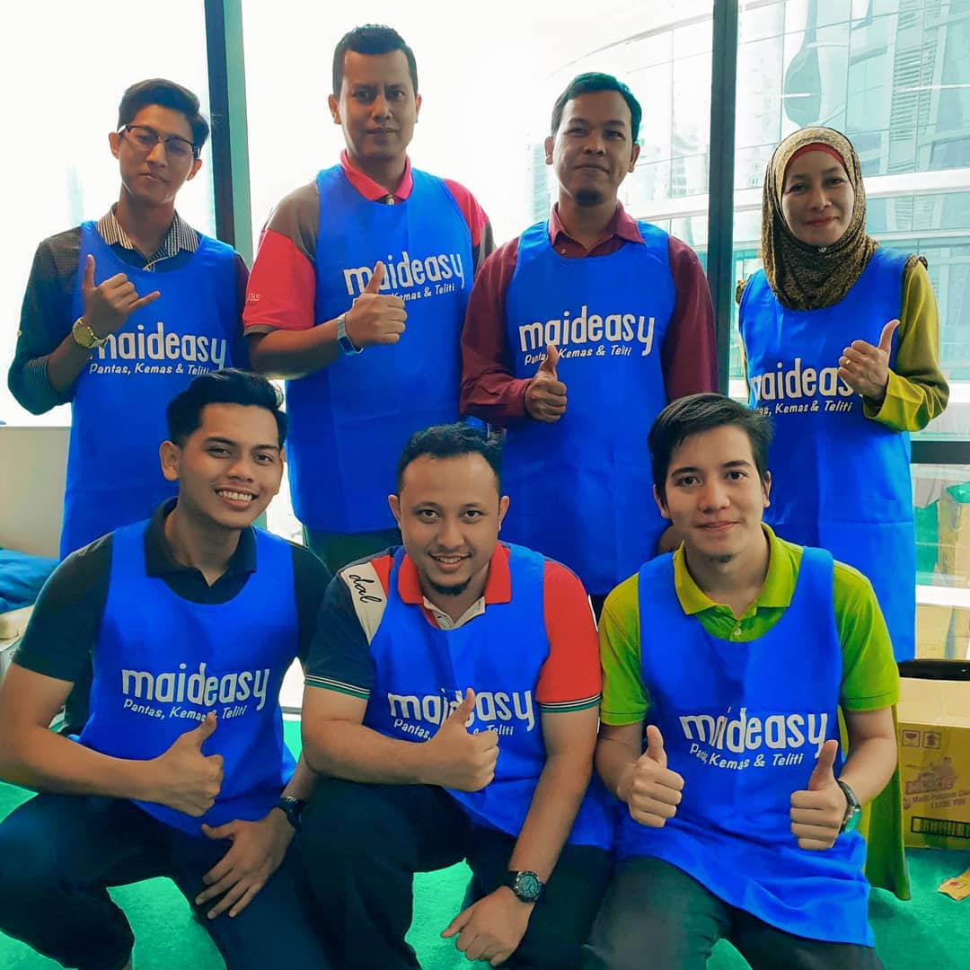 Maideasy - cleaning crew