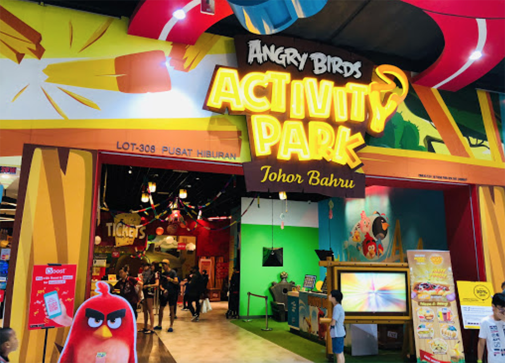 Angry Birds Theme Park To Permanently Close On 6th April - entrance