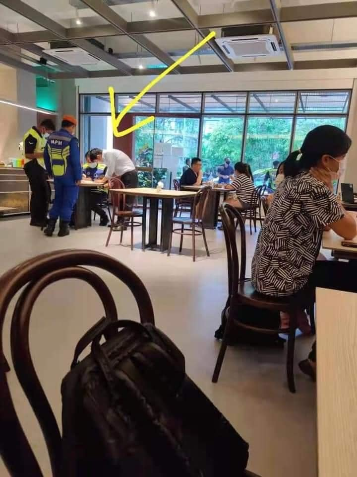 Man gets fined RM10k for not checking in with MySejahtera - restaurant