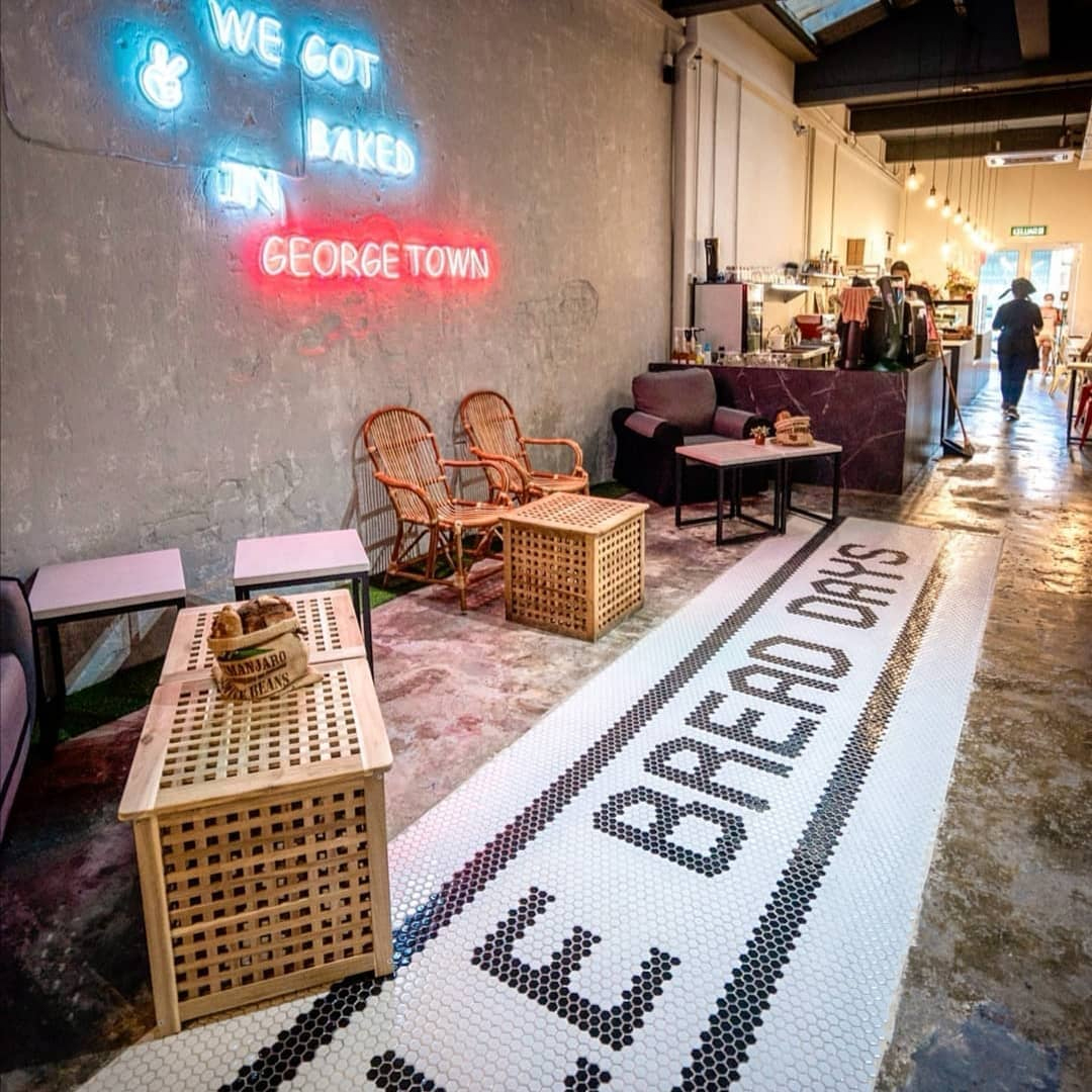 New cafes in Penang - Le Bread Days