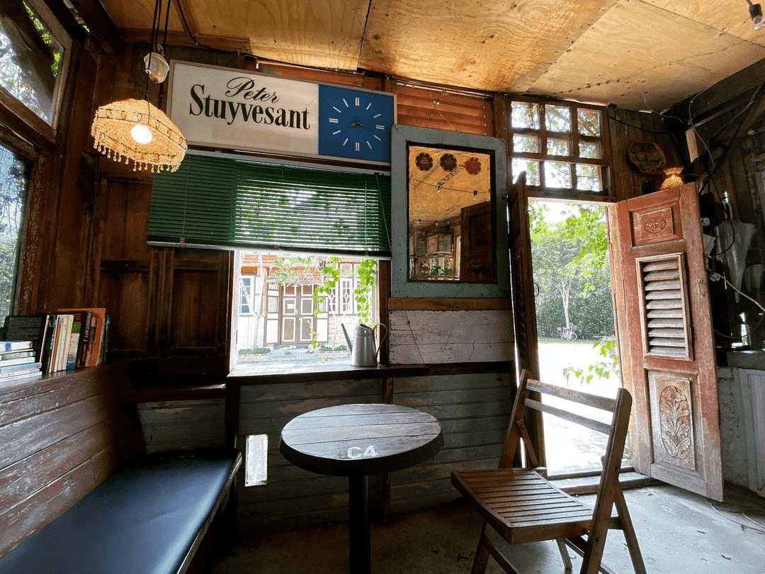 The Coffee Cottage in Penang - seat