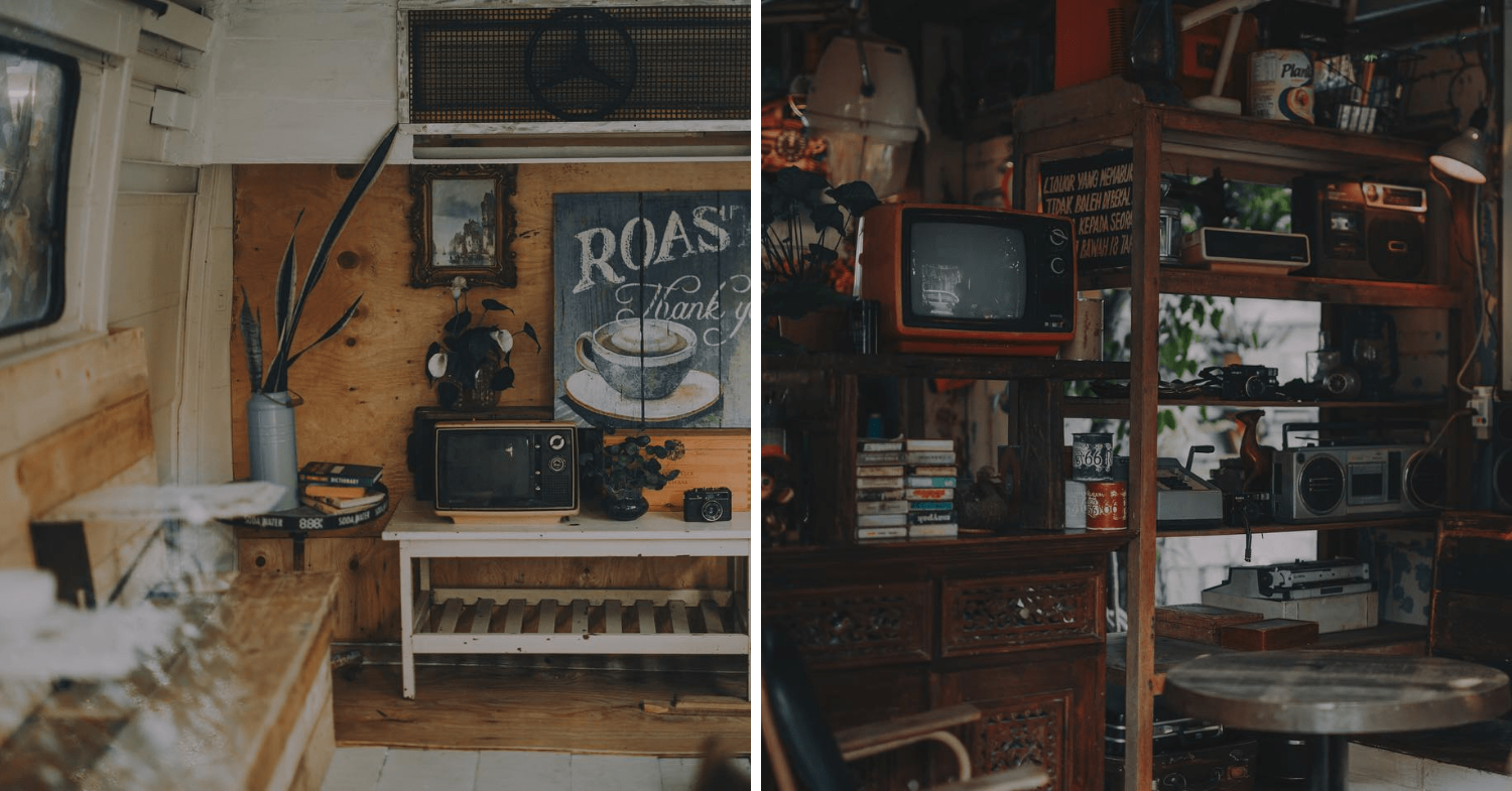 The Coffee Cottage in Penang - decor