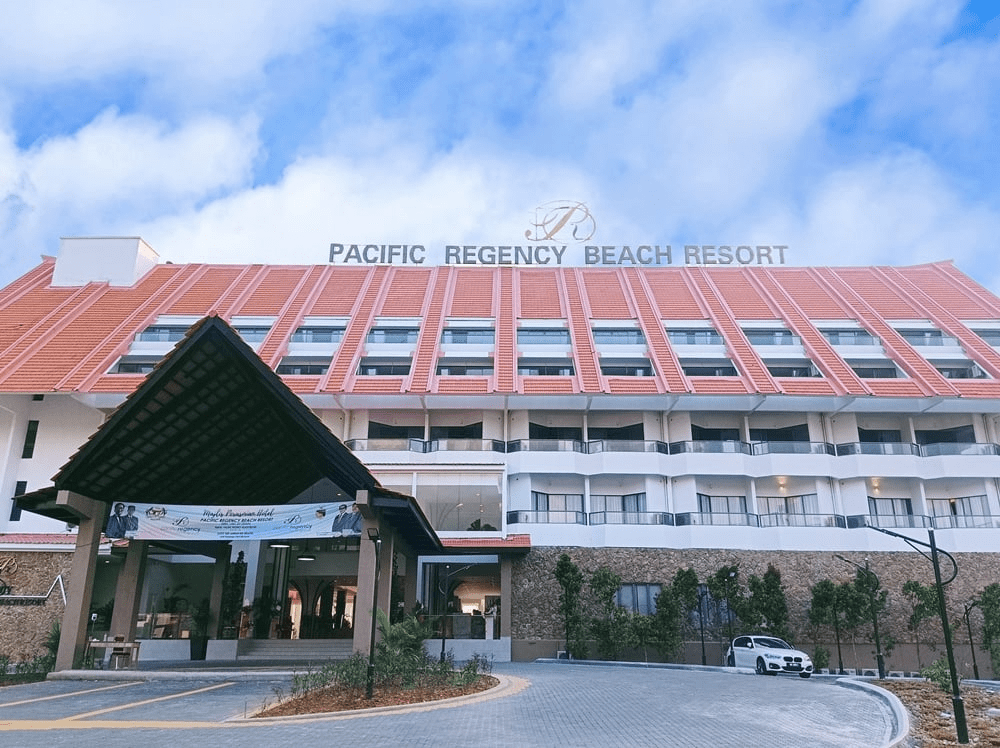 Pacific Regency Beach Resort In Port Dickson - exterior