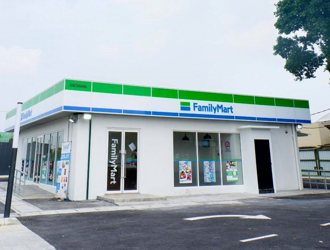 FamilyMart has a drive-thru outlet in Klang - store