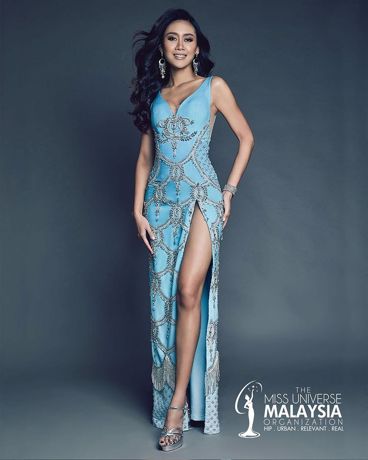 Miss Universe Malaysia 2020 costume - evening gown