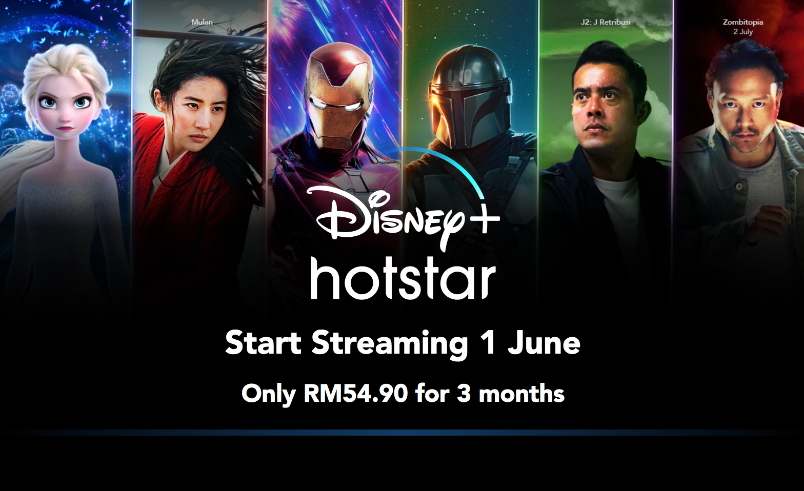 Disney Plus Hotstar Launches in M'sia on 1st June