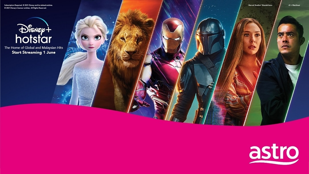 Disney Plus Hotstar Launches in M'sia on 1st June - Astro