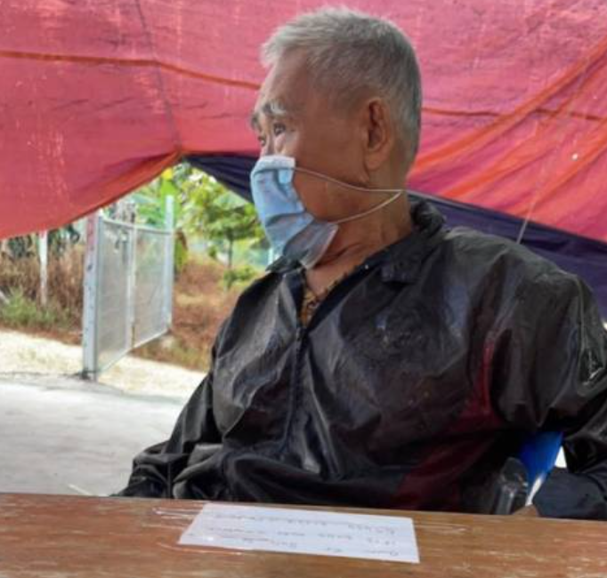 Lost elderly uncle travelled 80km from home