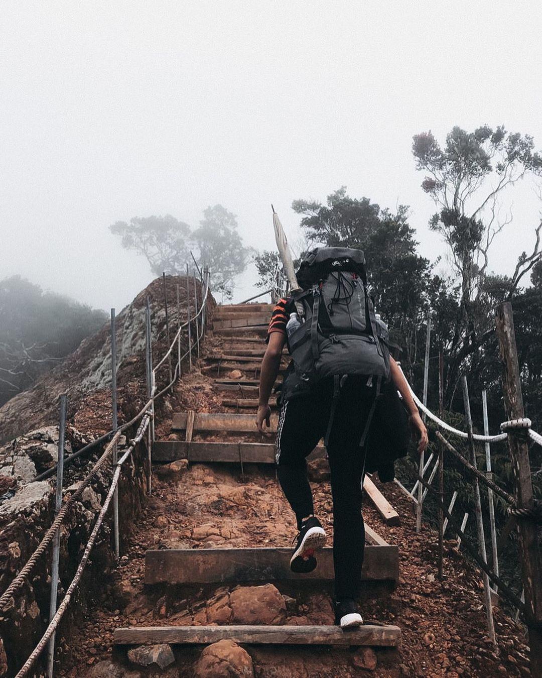 Backpacking in Sabah - Mount Kinabalu