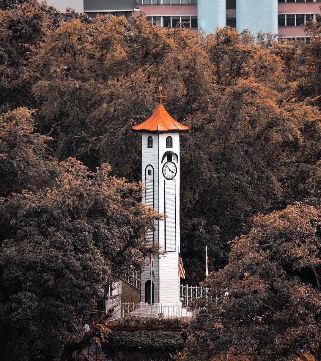 Backpacking in Sabah - Atkinson Clock Tower