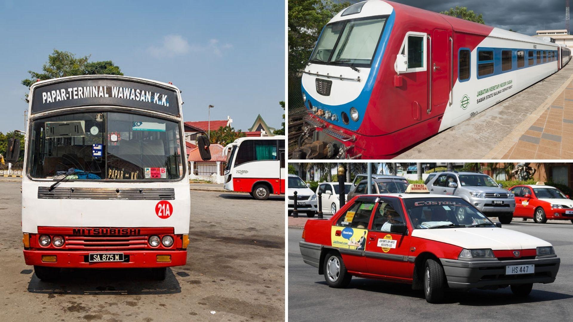 Backpacking in Sabah - public transportation