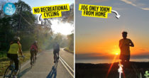 Updated SOPs For FMCO: Jogging Only Allowed Within Your Neighbourhood, No More Cycling & More