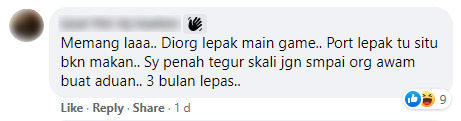 Comment about riders