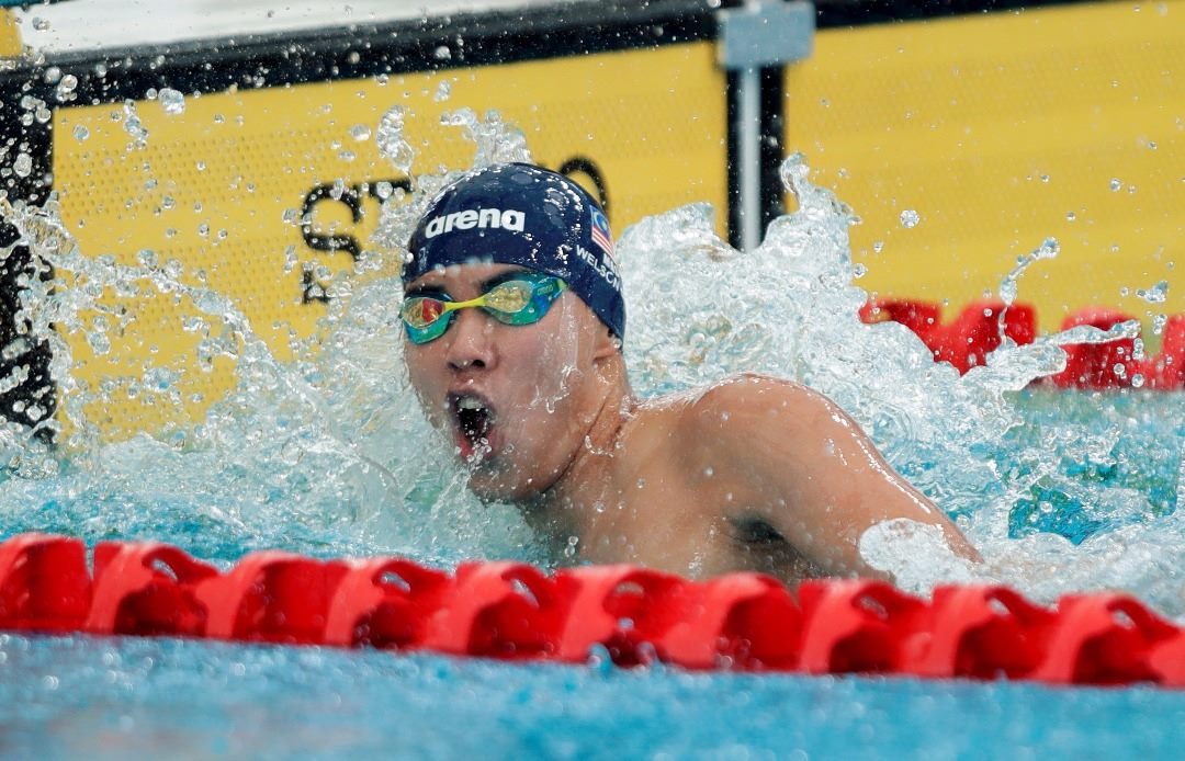 Malaysian swimmer in action