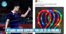 K-pop Fans Form New Lee Zii Jia Fandom Called Shattlehearts, Merch Is Mosquito Swatters Resembling Racquets