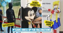 11 Fun Costumes M'sians Have Worn For Their Vaccination Appointments To Fend Off Covid-19 & Bring The Lolz