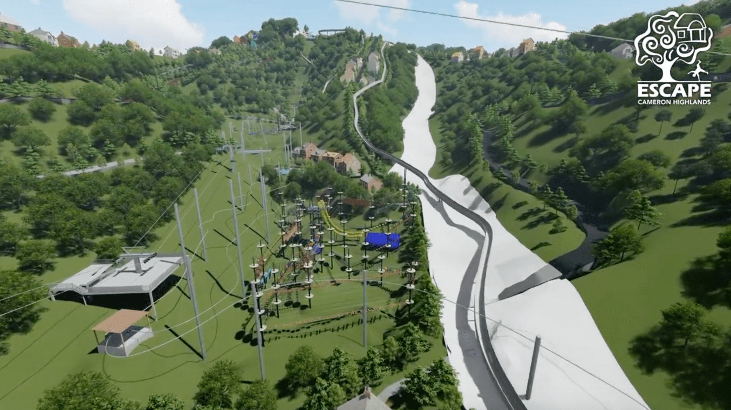 Escape Cameron Highlands to open in 2023 - obstacle courses