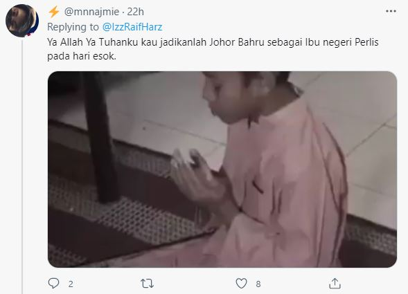 Netizen reacts to dine-in in Perlis